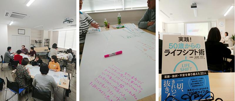 《開催レポート》書籍「実践!50歳からのライフシフト術」をテーマにしたワークショップが開催されました